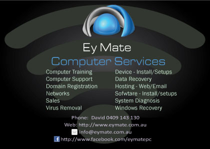 Ey Mates Computer Services Our New Flyer